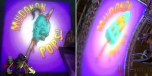 """Ecco i Mudokon Pops, prima e dopo il """"trattamento""""."""