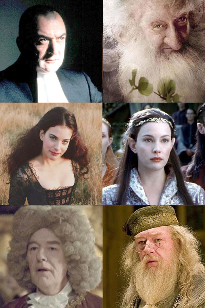Quindi Balin corteggia Arwen che è figlia di Albus Silente?