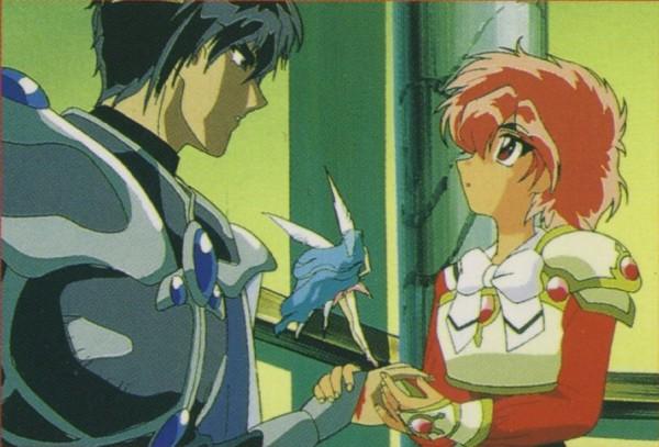 Come Milord di Sailor Moon, ma con un'armatura figherrima.