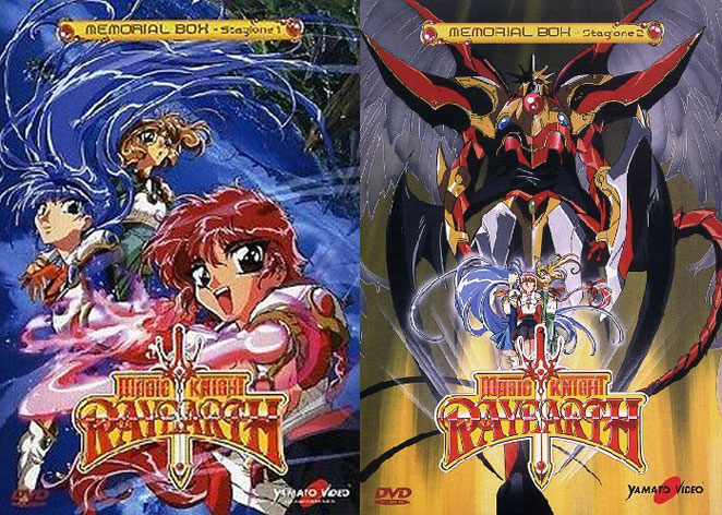 Magic Knight Rayearth Dal Manga Al Gioco Di Carte Seconda