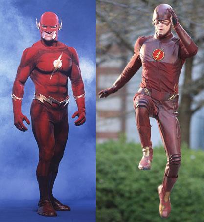 Alla vostra sinistra: Flash. Alla vostra destra: un bambino in un pigiama di pelle rossa con gravi problemi deambulatori...