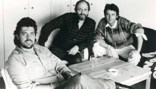da sinistra: Alan Parsons, Eric Woolfson e Andrew Powell