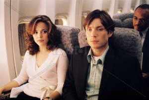 RACHEL McADAMS and CILLIAN MURPHY star in DreamWorks Pictures' suspense thriller at 30,000 feet, RED EYE, directed by Wes Craven.