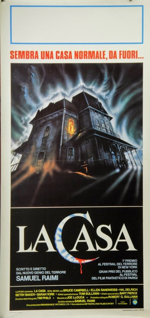 LA CASA - Italian Poster (most likely by Enzo Sciotti, but no confirmation) 2