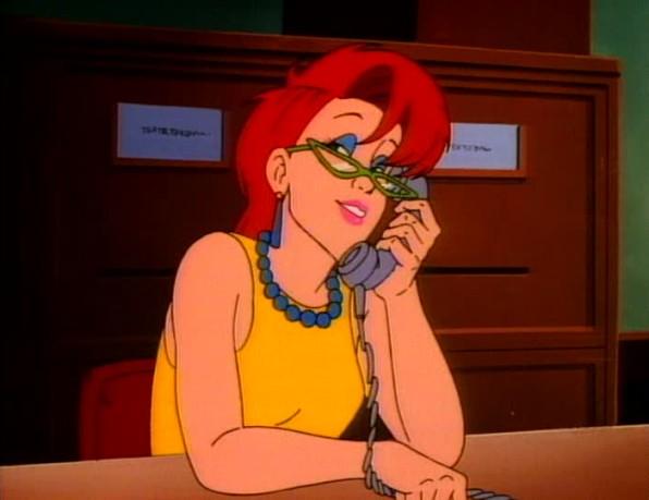 ... e occhiali da pornosegretaria.