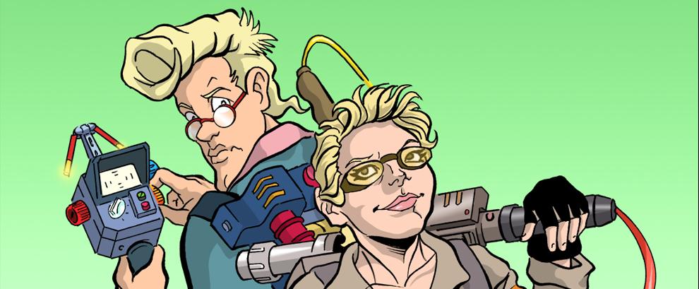 Ma il reboot non poteva scriverlo Straczynski? The Real Ghostbusters